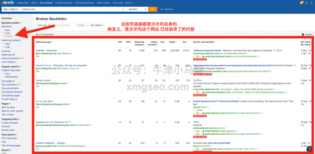 seo教程-自身网站的死链接