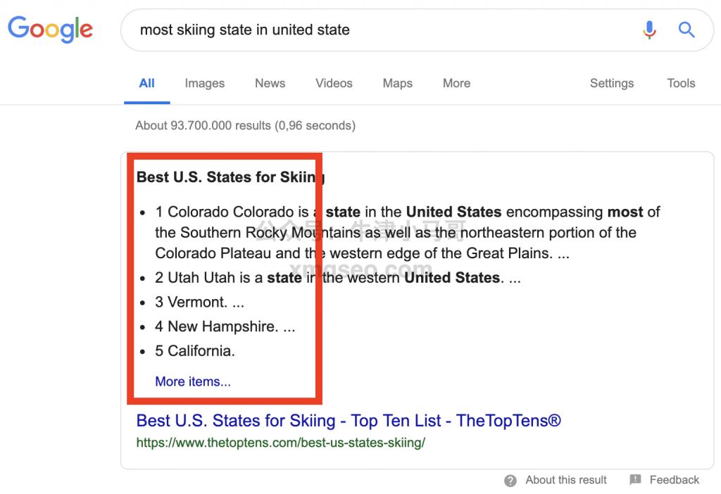 美国最适合滑雪的州