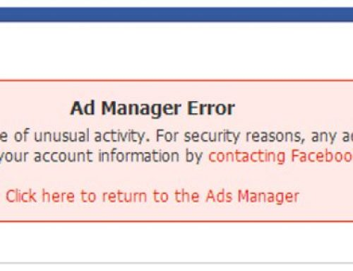 Facebook广告账号被停用和被封的申诉方法