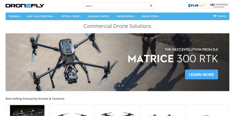 选品案例-无人机商店dronefly